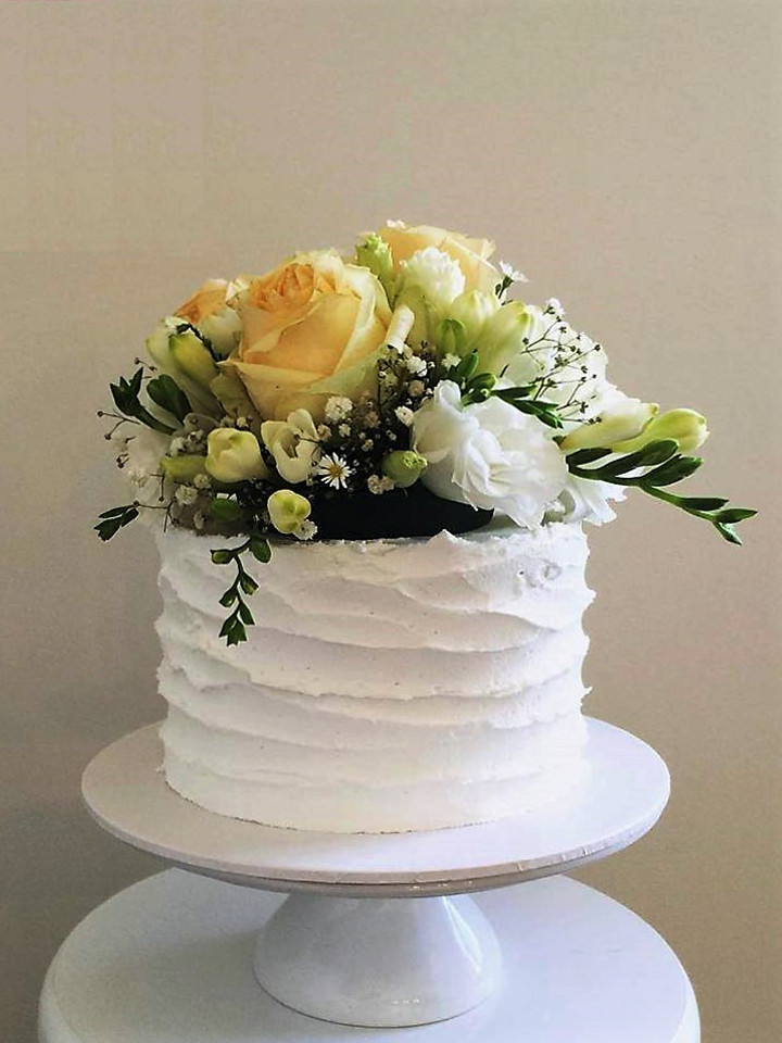 Yellow Wedding Cake Topper