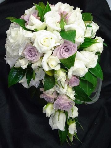 Wedding Rose Teardrop