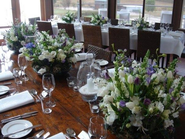 Table Arrangement Wedding Flowers