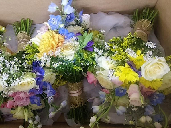 Wedding Flowers different colours