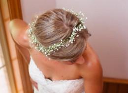 Wedding hair flowers inspiration