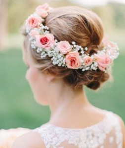 Headpiece flowers